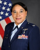 Official photo of Col. Iris A. Reedom, 374th Medical Group commander.