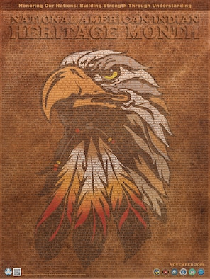National American Indian Heritage Month celebrates and recognizes the accomplishments of the people who were the original inhabitants, explorers, and settlers of the United States. In 1976, Cherokee American Indian J. C. Elliot-High Eagle, introduced Public Law 94-103, which was signed, making October 10-16 American Indian Awareness Week. (Courtesy graphic)