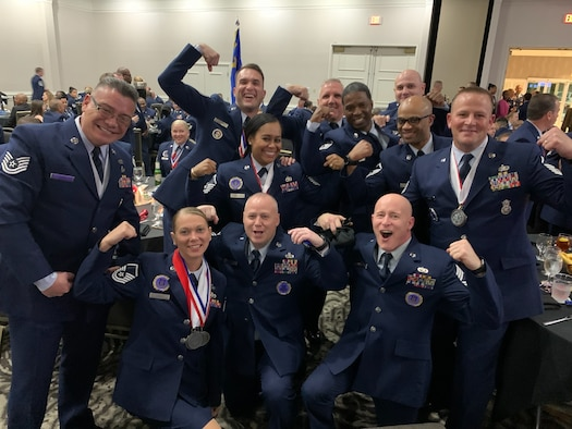 514th Air Mobility Wing Recruiting Squadron Award Winners