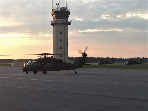 Army Reserve relocates aviation assets from Florida