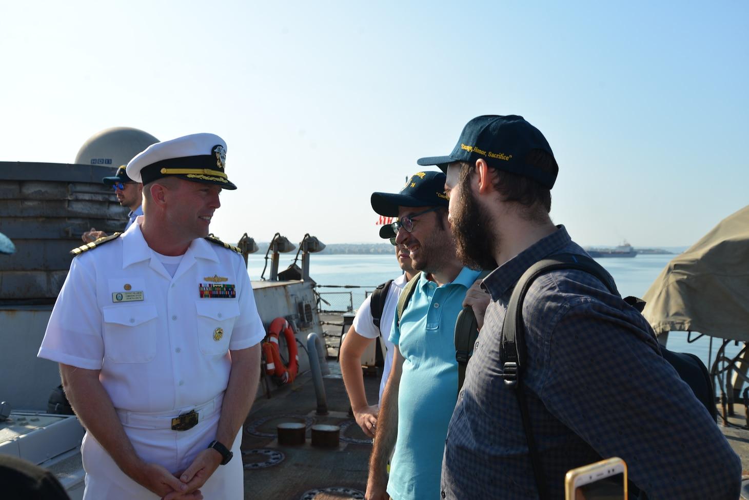 McFaul visits Greece