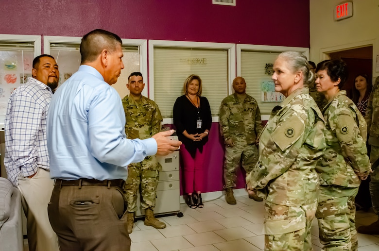 653rd Regional Support Group partners with Child Crisis Center of El Paso
