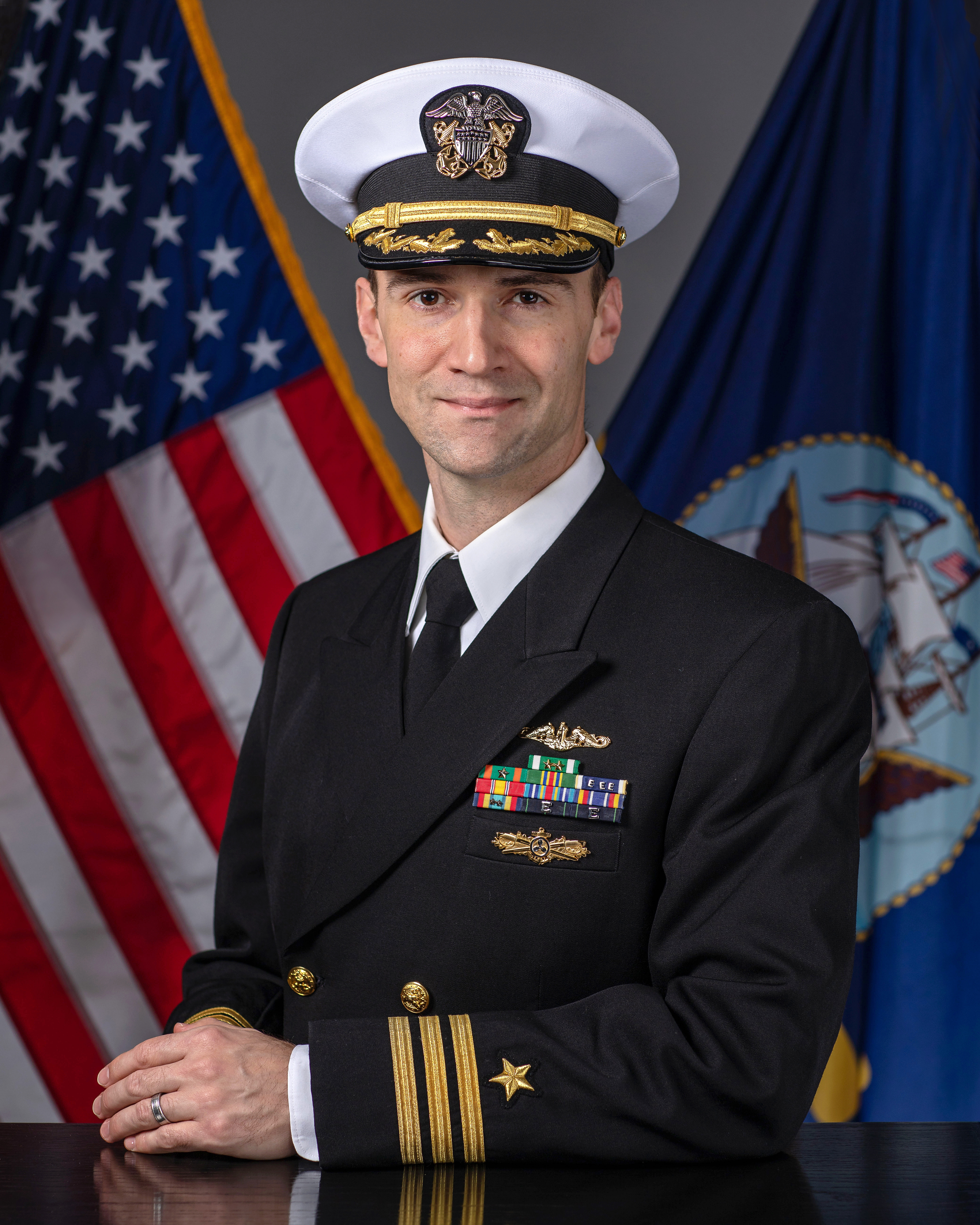Commander Aaron D Coudray Gt Naval Sea Systems Command