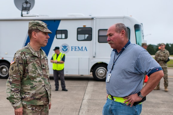 Army Reserve EPLOs partner with FEMA, Fort Bragg for Hurricane Dorian response