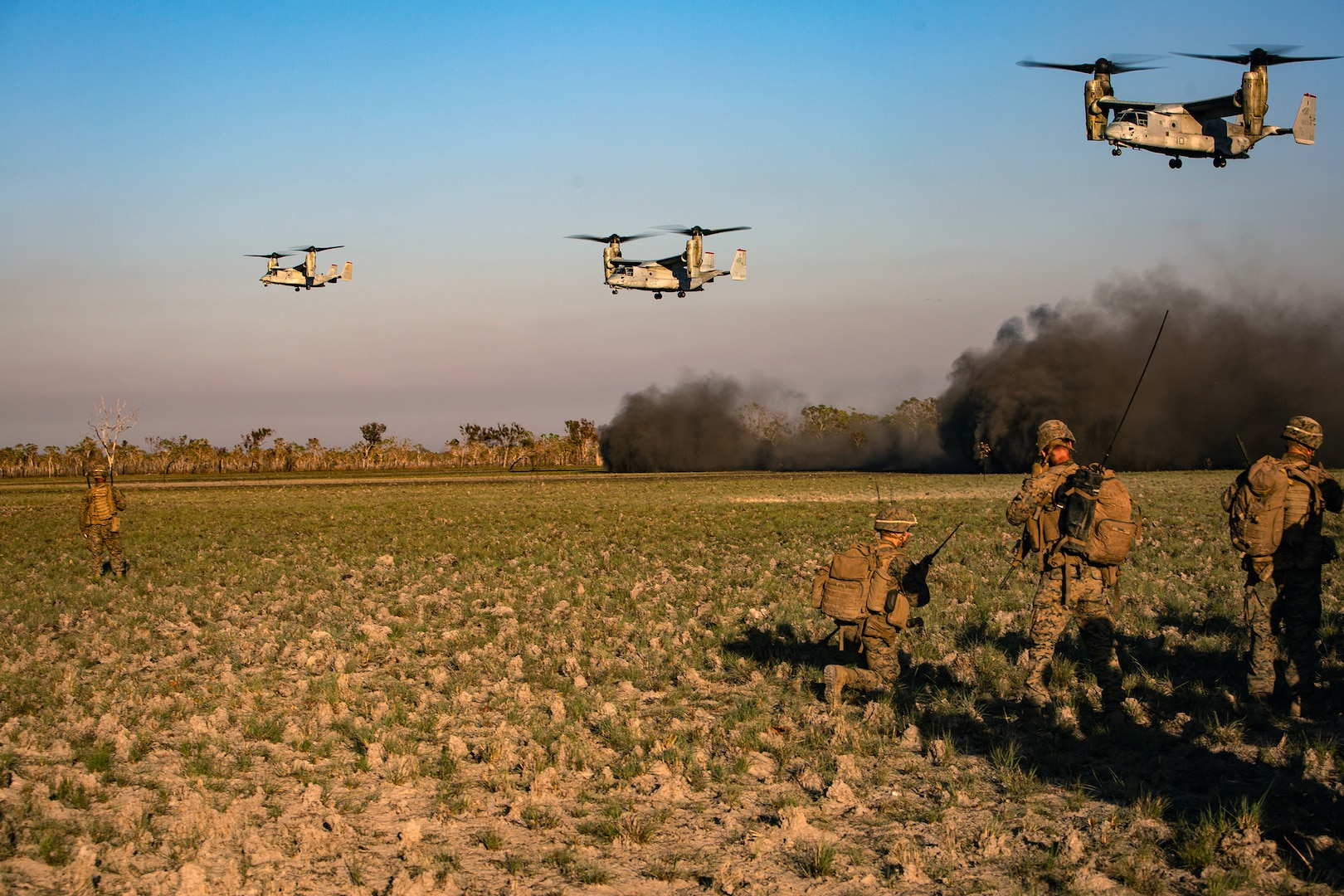 Marine Rotational Force – Darwin and ADF Complete Combined-arms Live-fire Exercise in NT