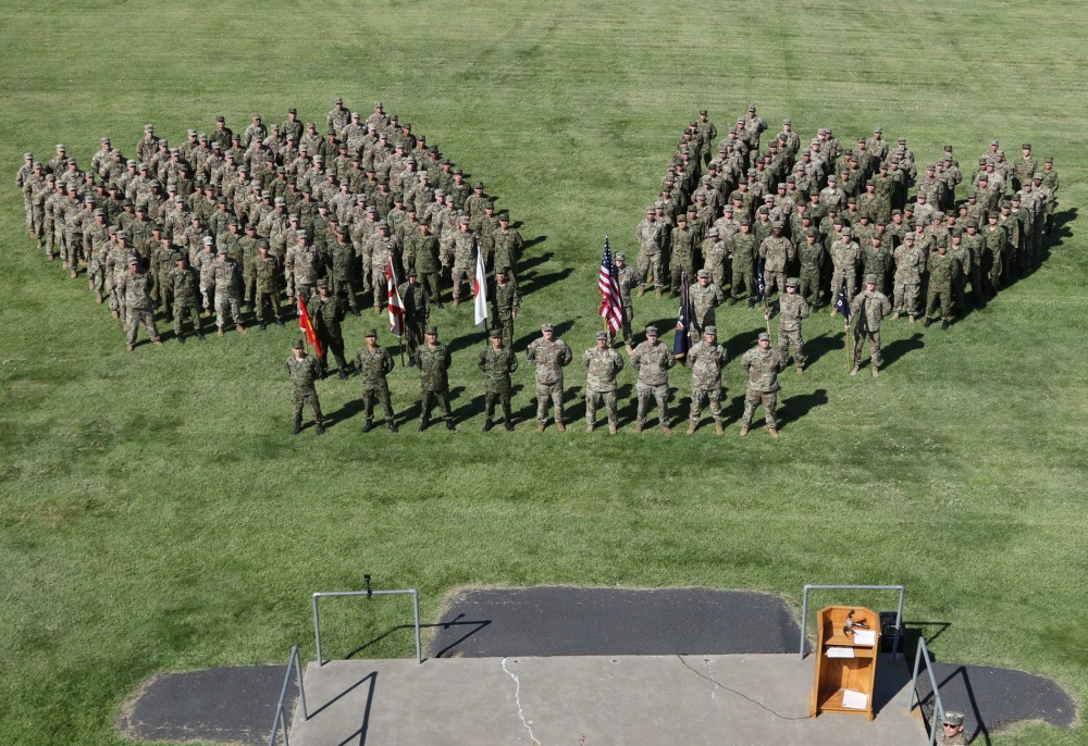 Discipline Exemplified: Japan's 25th Infantry Regiment joins
