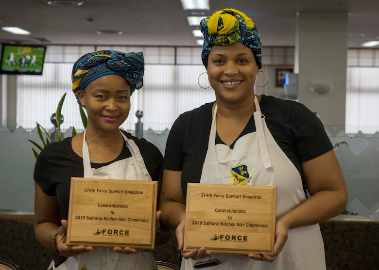 374th FSS hosts 2019 Samurai Kitchen War competition
