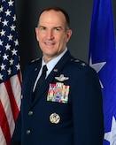Official photo of Maj. Gen. John P. Healy. (Courtesy photo)