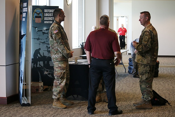 DLA Aviation service members share activity mission at AMCOM 101 event