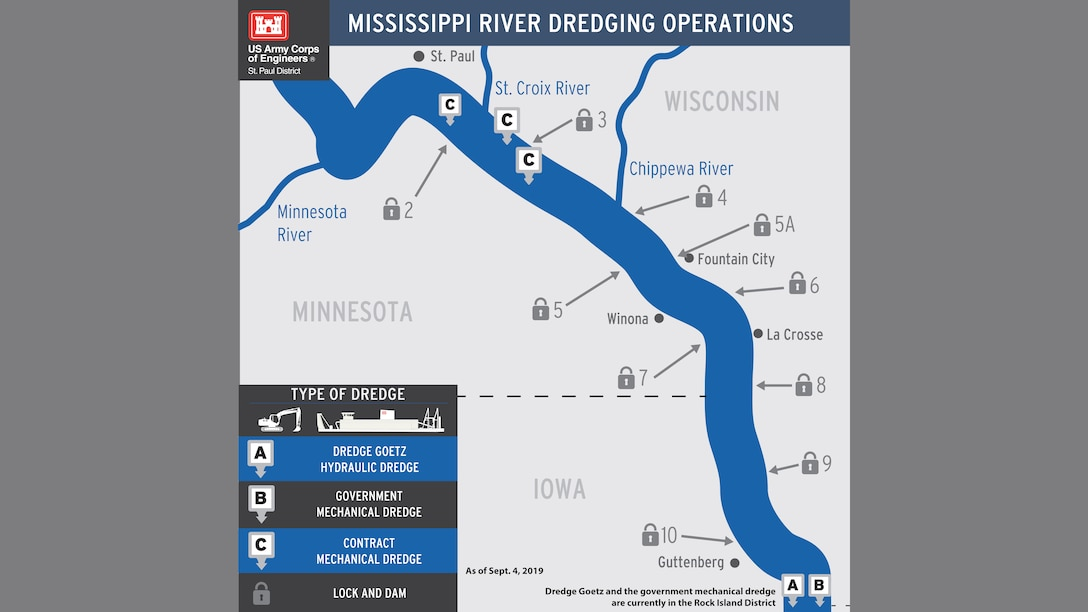 St. Paul District Dredging Operations