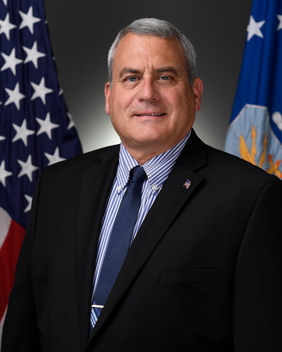 Official biography photo of Dr. David B. O'Brien.
