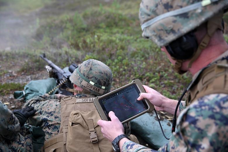 Handheld tablet improves situational awareness