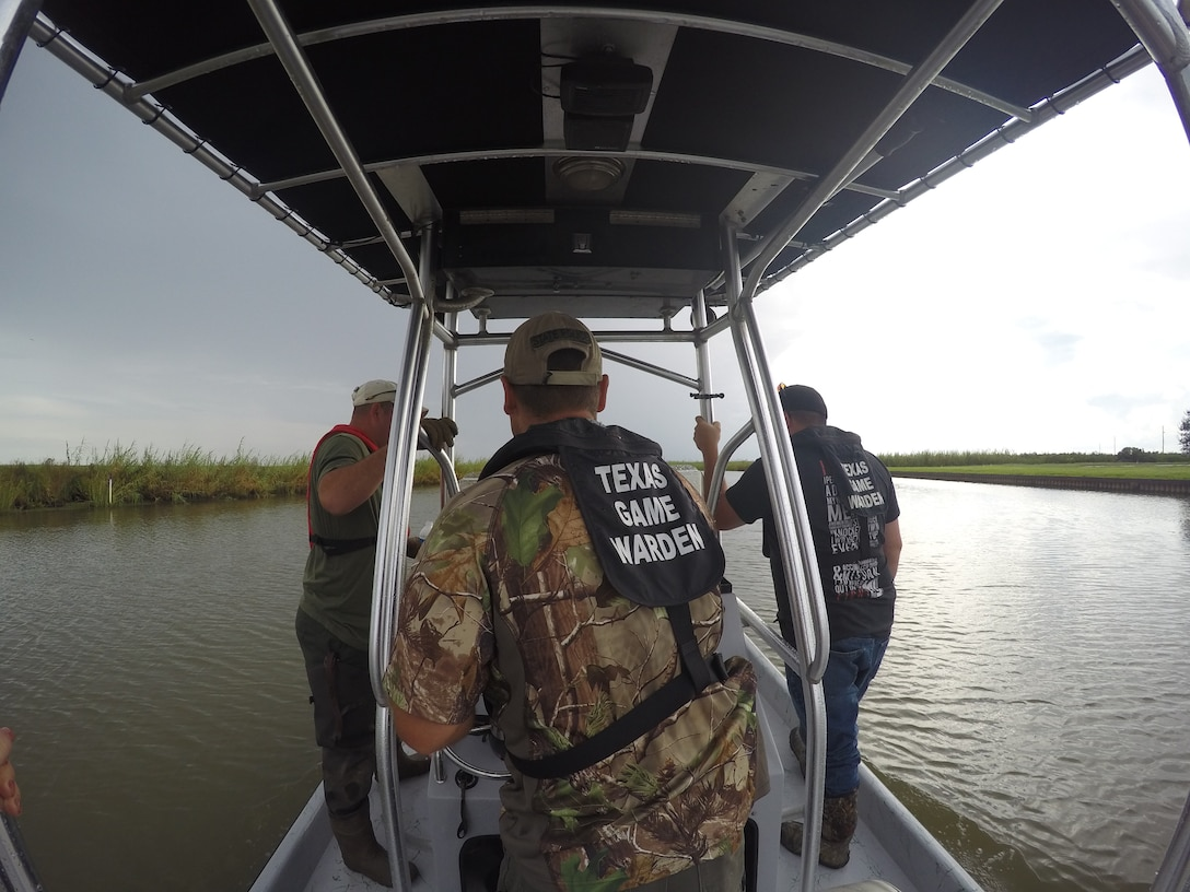 The U.S. Army Corps of Engineers Galveston District, Texas Parks and Wildlife, Chambers County Sherriff's Department and Lone Star Warriors Outdoors are combined resources to offer combat injured veterans the opportunity to participate in an organized feral hogs and alligator hunt Sept. 26-28, 2016, at the Wallisville Lake Project.