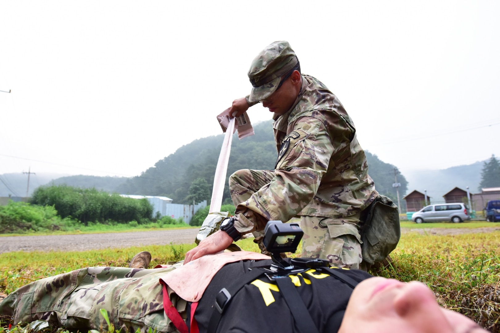 U.S. Army Pacific Best Warriors train for Army competition