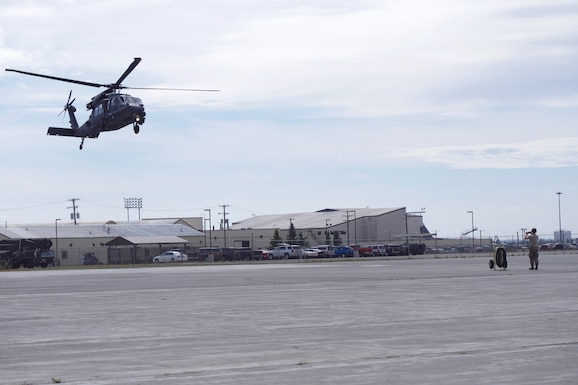 Robins keeps personnel recovery mission flying by converting Army aircraft into AF HH-60G Pave Hawks