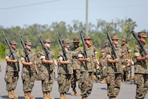 As Hurricane Dorian pummeled the east coast, Marine Corps Logistics Base Albany opened its installation gates as a safe haven location for thousands of recruits and Marines from Marine Corps Recruit Depot Parris Island, South Carolina. More than 6,000 recruits, several drill instructors and other support personnel from the training depot evacuated to MCLB Albany, Sept. 3. (U.S. Marine Corps photo by Re-Essa Buckels)