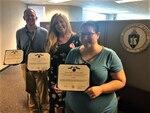 three auditors show off awards
