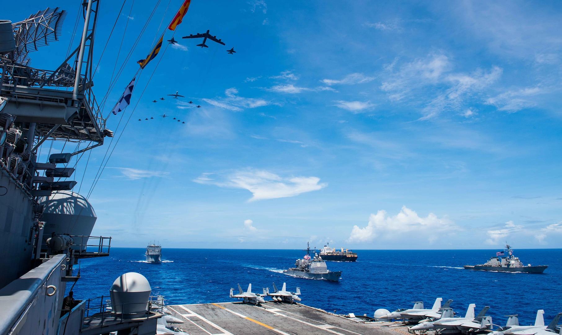 U.S. Pacific Fleet Leads 'Global 11' Wargame