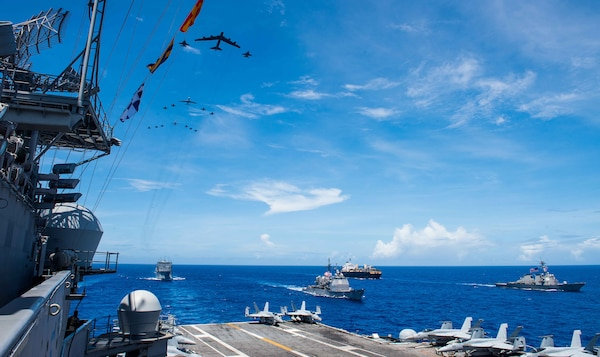 U S  Pacific Fleet Leads 'Global 11' Wargame > U S  Indo
