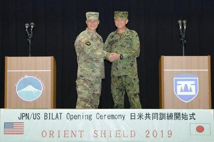 17th Field Artillery Brigade participates in Orient Shield 2019 as Multi Domain Task Force