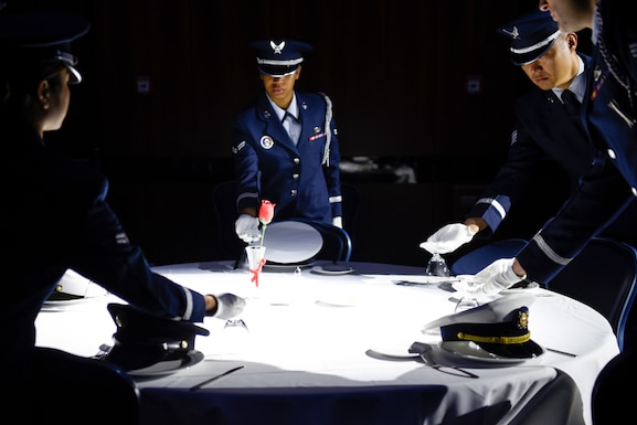 Today, September 18th, is the U.S. Air Force's birthday. Tyndall Checkertails will have the opportunity to celebrate the U.S. Air Force's 72nd birthday during the Air Force Ball. The Air Force Ball is a longstanding tradition within the service that is celebrated at bases around the world annually. (U.S. Air Force article by Airman 1st Class Bailee A. Darbasie / photo by Airman 1st Class Valerie Seelye)