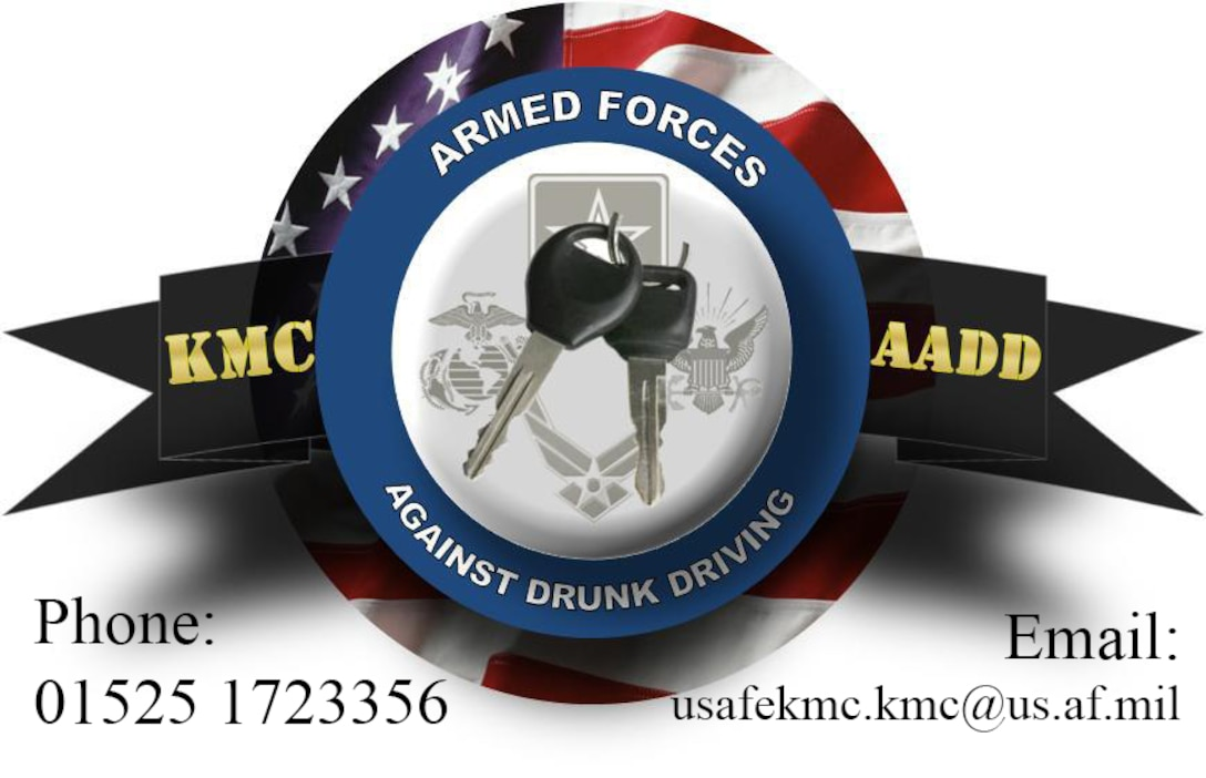 The hours for Armed Forces Against Drunk Driving extended 1 July in an effort to reduce the number of DUIs in the Kaiserslautern Military Community. While everyone is encouraged to have a plan if they drink, there really is no reason anyone under the influence should get behind the wheel. AADD can pick you up if your plans fall through on Fridays and Saturdays from 10 p.m. to 6 a.m.