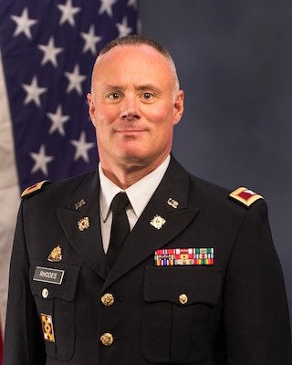 COL John Rhodes, 3d Transportation Brigade (Expeditionary) Commander