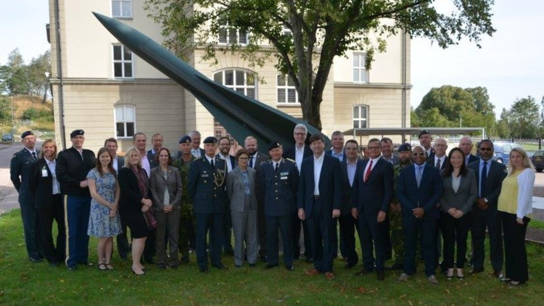 ERDC participates in US-Sweden Army Senior Cooperation Forum