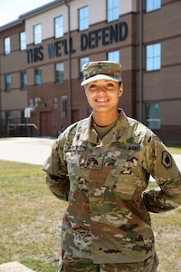The Making of a Drill Sergeant: Meet Sgt. Alycia Perkins
