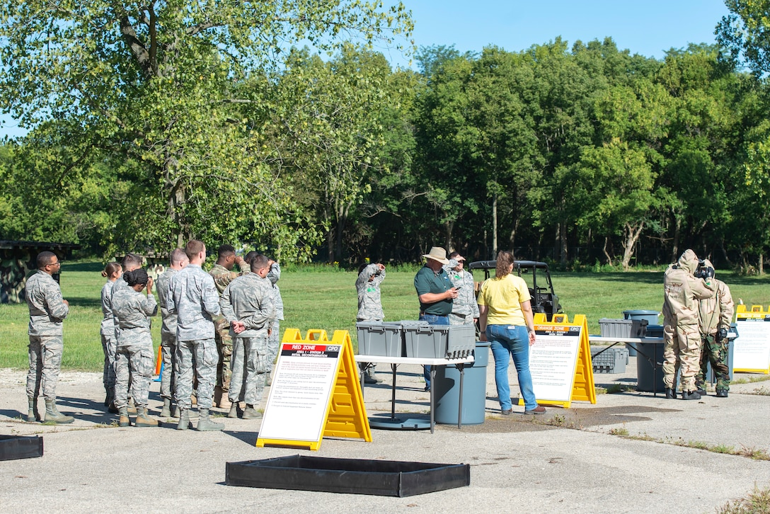 88th Air Base Wing Holds Training Day