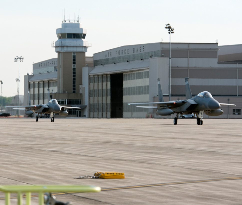 Planes use Wright-Patterson AFB as safe haven