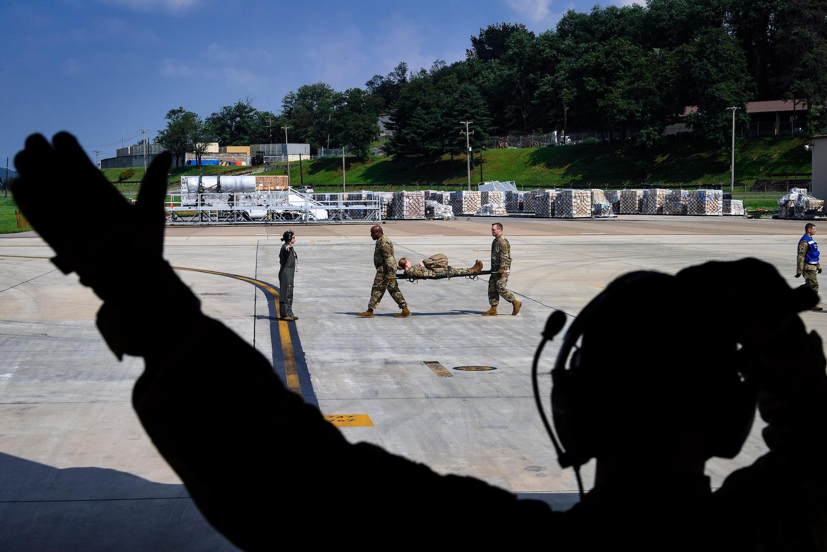 Air Force, Army Medevacs 30 Patients