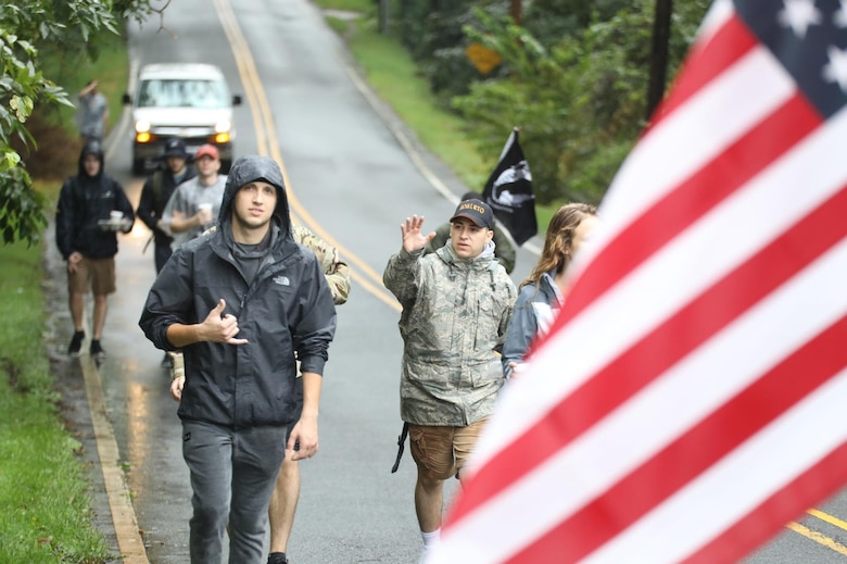 Columbus AFB Airmen to march 100 miles to ground zero in honor of 9/11