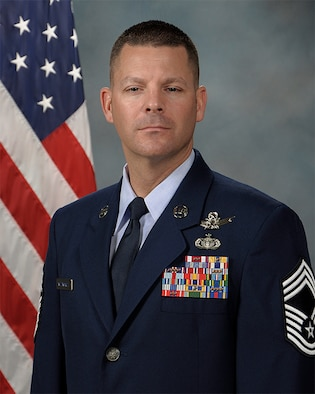 Chief Master Sgt. Steven Whitworth official photo