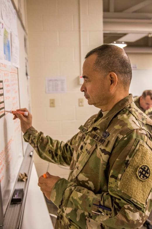 Army Reserve Hurricane Dorian response