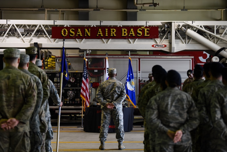 Team Osan commemorates those lost during 9/11