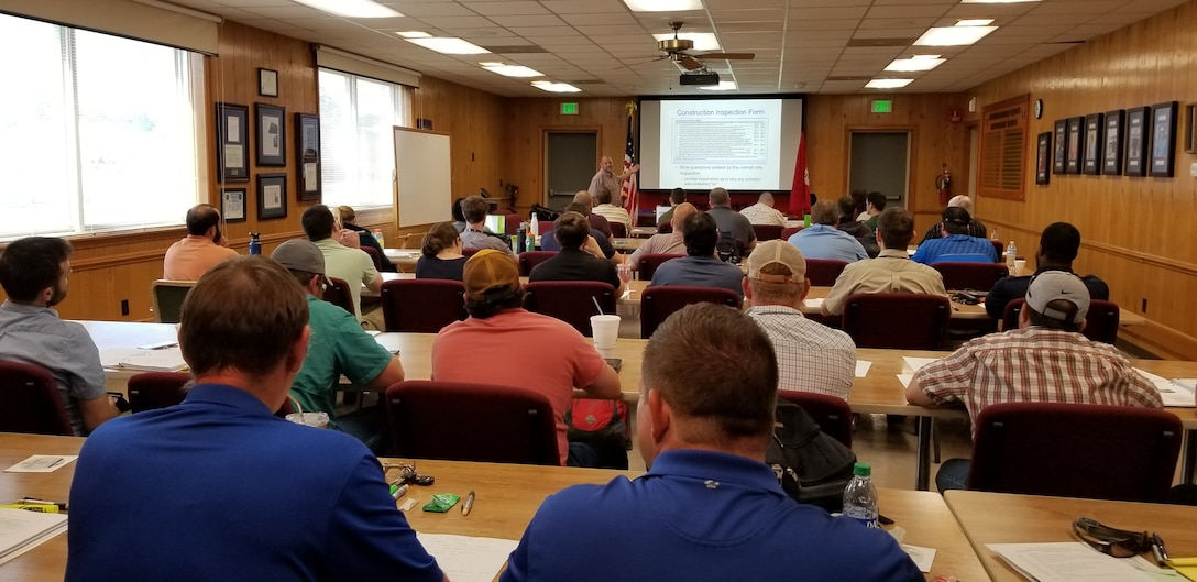 District employees receive stormwater training