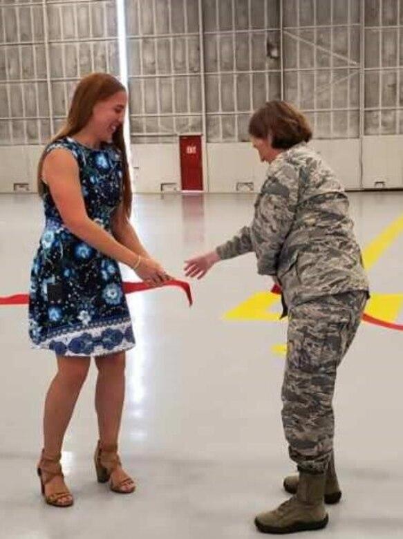 940th MXS ribbon cutting ceremony