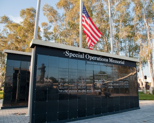 The Special Operations Forces Memorial Park at MacDill Air Force Base, Fla., was the host site for the 18th annual 9/11 ruck march, Sept. 11, 2019.