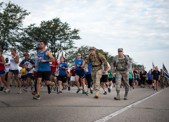 Run for the Fallen event at Wright-Patt