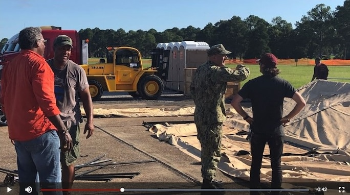 Defense Logistics Agency Distribution Expeditionary teams pull out of Hurricane Dorian Incident Staging Bases