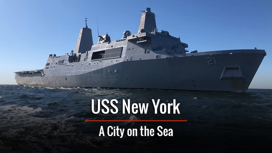 USS New York: A City on the Sea