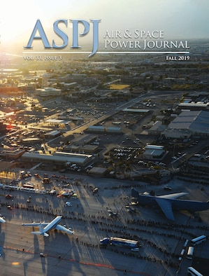 The cover of the Fall 2019 Air and Space Power Journal, published by Air University Press.