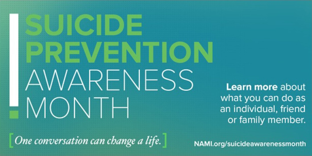 "September is National Suicide Prevention Awareness Month. In response to the growing number of suicides in the Air Force, bases have been holding a ""resiliency tactical pause,"" a one day stand down where Airmen can discuss suicide awareness and prevention, as well as talk about mental health issues and break down barriers for getting help when needed."