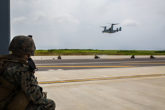 U.S. Marines Complete Simulated Sequential Expeditionary Operations at Ie Shima Training Facility