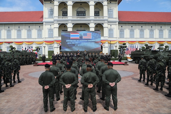 Royal Thai Army First to Receive Strykers