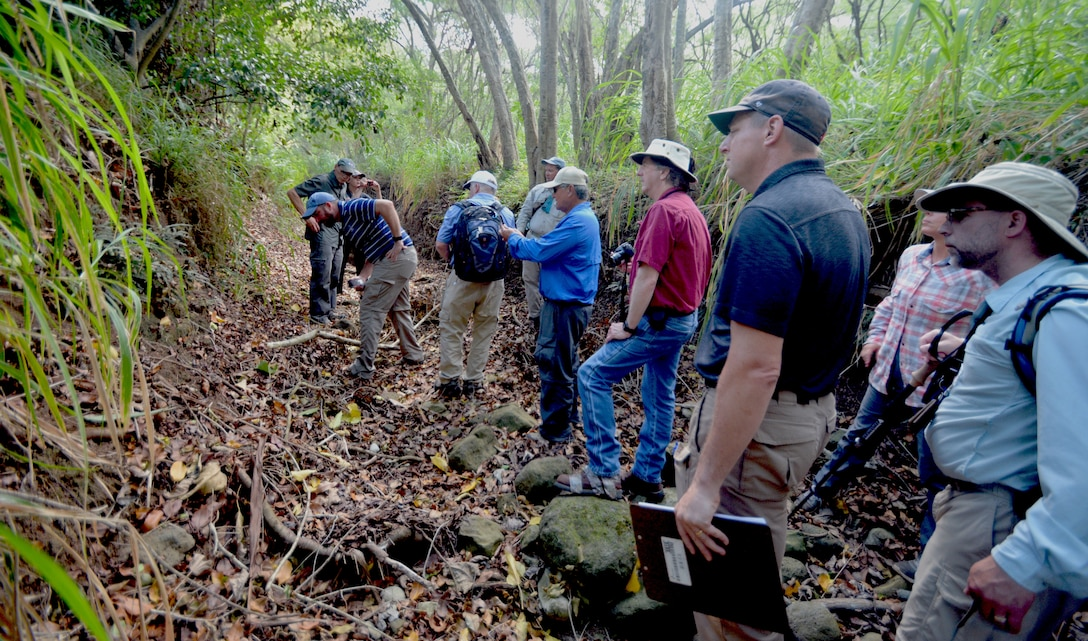 The U.S. Army Corps of Engineers-Honolulu District (USACE) civil works branch teamed with the USACE Committee on River Engineering (CRE) July 19 to Aug. 2 to revisit two civil works project actions and evaluated the potential for future repairs during the 85th meeting of the USACE CRE.