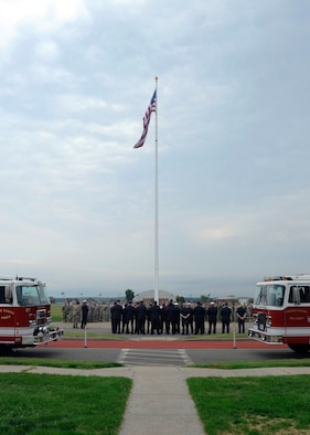Base hold 911 Memorial Ceremony