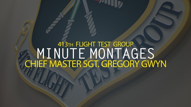 Minute Montages - Chief Master Sgt. Gregory Gwyn