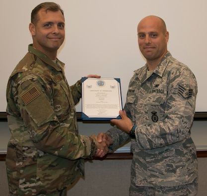 Pruckno Promoted to Tech Sgt